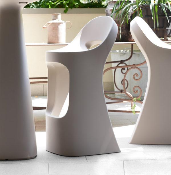 Стеклопластиковый барный стул «Capitano-B»