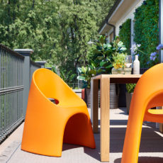 Стеклопластиковое кресло
