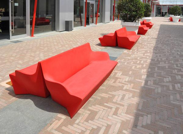 Скамейка «Origami-L»
